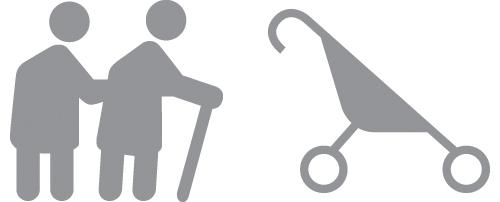 Personne à mobilité réduite